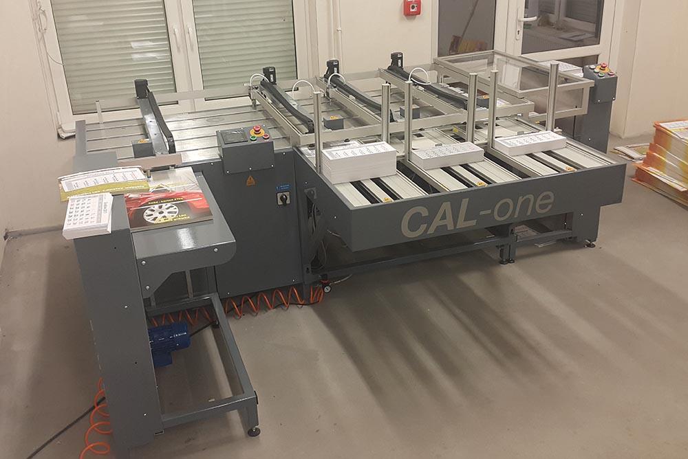 Najnowocześniejszy system do klejenia kalendarzy w drukarni Wieland