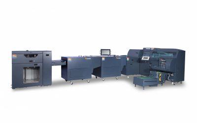 Oprawy miękkie A5 lub broszury A6 z arkuszy SRA3 w linii z maszyną cyfrową – premiery w C.P. Bourg