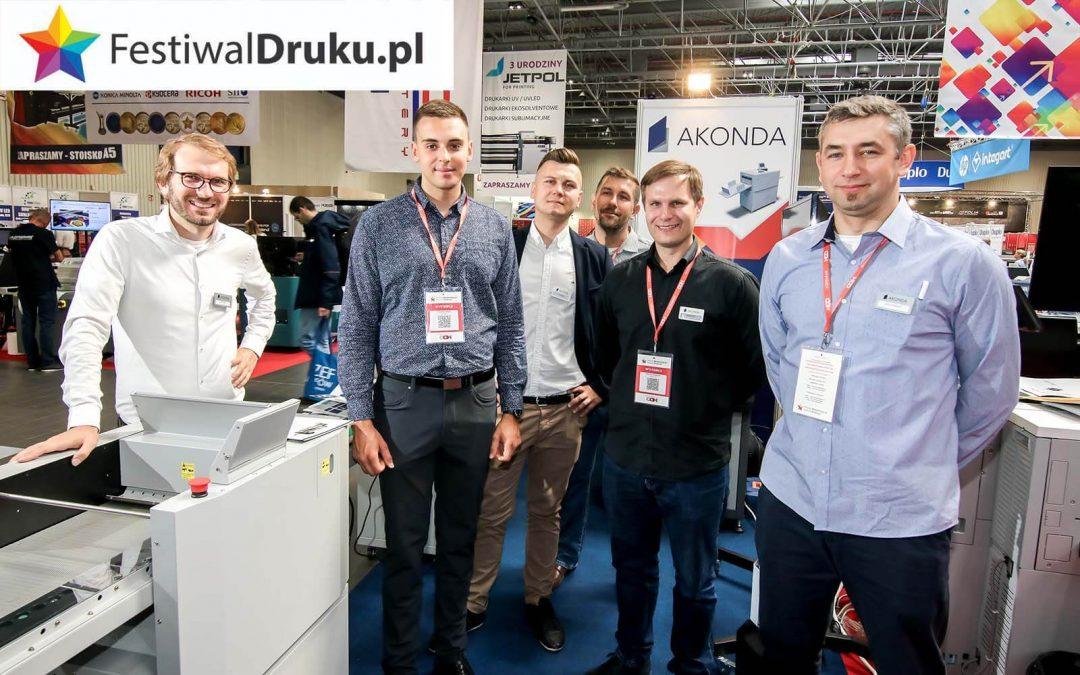 """Festiwal Druku 2019 za nami… """"Nowe inspiracje"""" złocenie bezmatrycowe"""