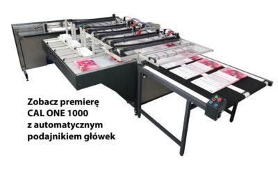 Premiera Cal One 1000 z automatycznym podajnikiem główek